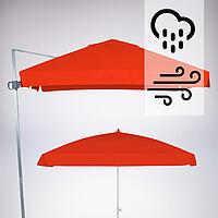 Sombrilla impresa contra viento y lluvia