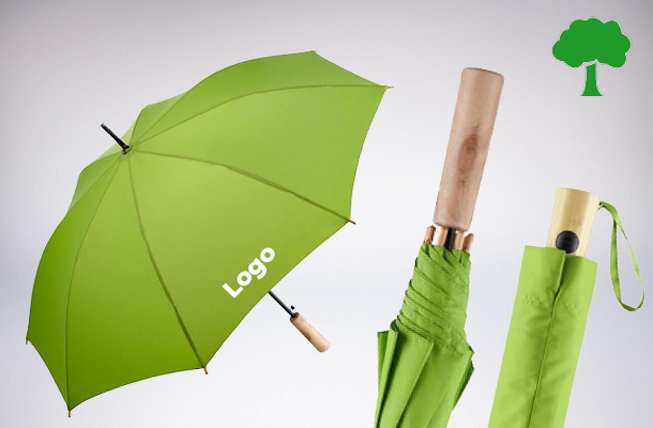 Paraguas personalizados ecológicos