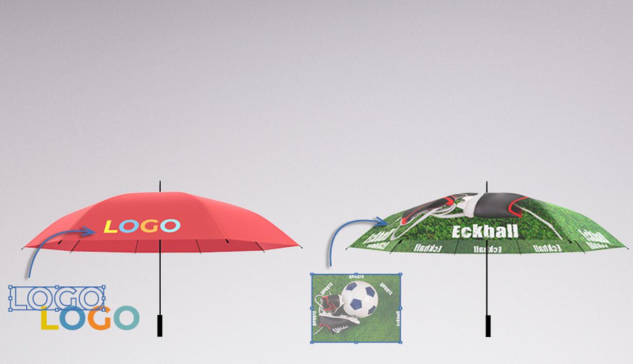 Paraguas personalizados para empresas