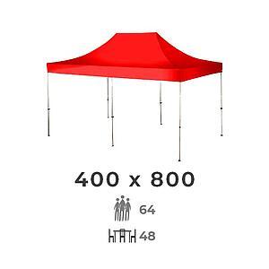 Carpa 400x800 4m